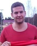 Niklas Nygren knoppade in hörnan som gav Svartvik tre poäng i toppmatchen mot Sund.