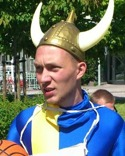 Henrik Svanström nickade in Svartviks segermål med bakhuvudet.