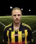 André Sjödal var tillbaka på planen igen efter sina knäskador och spelade en halvlek mot Söderhamn i cupen.