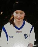 Tova Olsson hängde hela sju bollar mot Kovland 2.