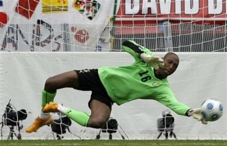 Landar landslagsmerierade Ghanamålvakten William Amamoo i Ånge IF?