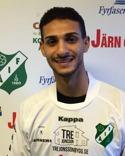 Selwan Al Jaberi från Skånekurd FF är Ånges första nyförvärv.