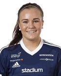 Maxine Björkholm blev SDFF:s enda målskytt när man åkte ur Svenska Cupen.