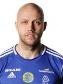 Stefan Ålander blev utsedd till bäste Giffare trots att han bara spelade tio minuter i sin avskedsmatch.