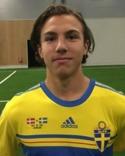 Alexander Panayioti - liten men naggande god målvakt till Svartvik från GIF U19.