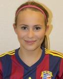 Elsa Burvall - en av fyra Selångertjejer i årets All Star Team.