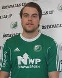 Niclas Möllhagen var en dominat i höjdspelet mot FV.