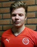 Axel Lundgren kontrade in spiken.