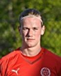 Daniel Johansson satte två av Svartviks tre mål hemma mot KB 65.