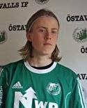 17-årige Christoffer Strandin gjorde en fin debut från start i Östavall trots förlusten.
