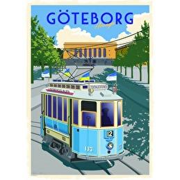 Tavla Poster Lisebergslinjen 50x70 -