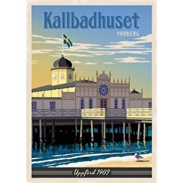 Tavla Poster Kallbadhuset 50x70 -