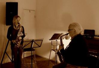 Saxofonlektion