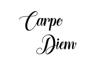 Kort 13x18 - Kort 13x18 Text:Carpe Diem