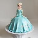 Barntårta Elsa Frost