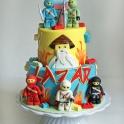 Ninjago tårta