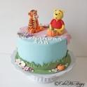 Barntårta Puh & Tiger