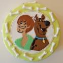 Barntårta Scooby doo