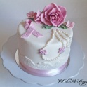 Rosa bandettårta