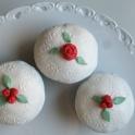 Täckta roscupcakes