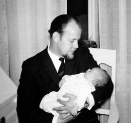 Jag och pappa, december 1962