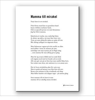 Tryck - Mirakel