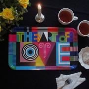 The Art of Love - bricka