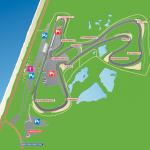 Karta Circuit Park Zandvoort, Holland