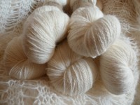 Yarn 100% angora