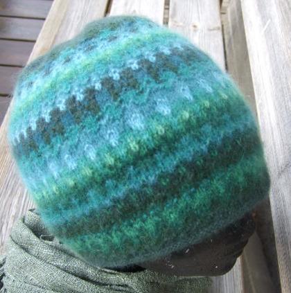 """Green Wood"" hat. Photo S. Gustafsson"