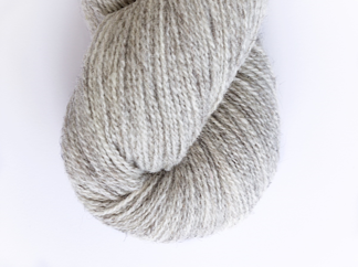 Naturally Light Gray Lambswool - 100g