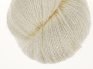 Natural white Lambswool - 100g