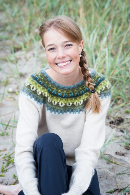 """Gul Eld"" pullover. Photo Karin Björk"