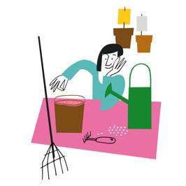 Illustration för läromedel Liber förlag.