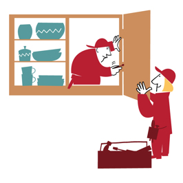 Illustration för Modexa/Frank&Earnest reklambyrå