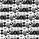 Figurer i svartvitt