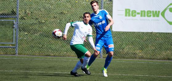 0-1 målskytten Mohammad El Kayed.