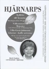 Hjärnarpsbladet Våren 2007