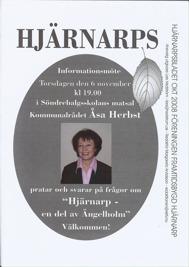 Hjärnarpsbladet Hösten 2008