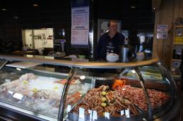 Färsk fisk och skaldjur