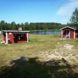 Grillstuga, Storsjön och stuga Bågen