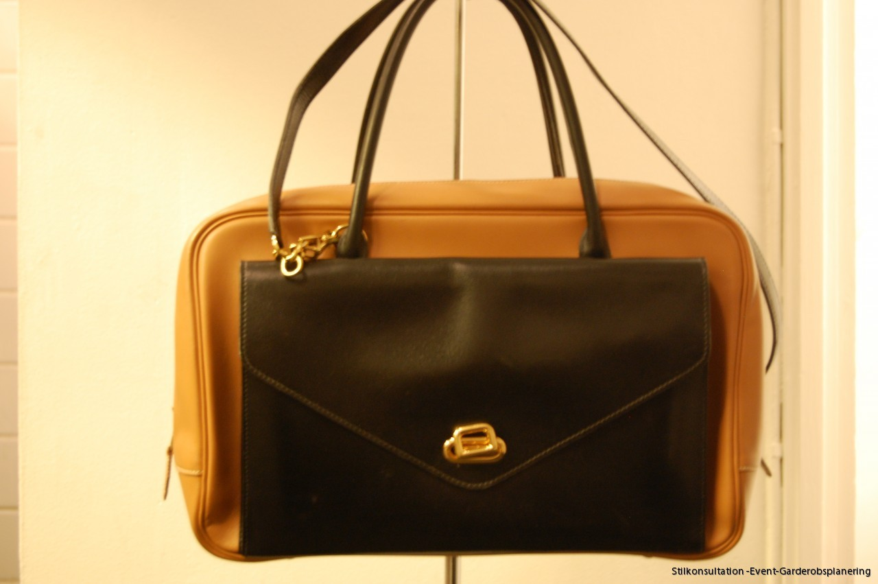 Vintage Bi Color Hermes Bag  Studio Vintage