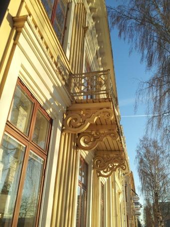 Jag bara älskar krusidullerna under balkongen!