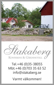 Händer på Konferens & Gårdshotell Stakaberg utanför Halmstad