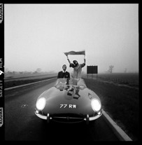 BRIAN DUFFY -Type Jaguar On The M1 Motorway Soon After It Opened by brian duffy 1960, a convo on cool