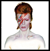 Brian Duffy · David Bowie · Aladdin Sane (Closed Eyes) · 1973