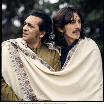 Clive Arrowsmith -Harrison-&-Ravi-Shankar2