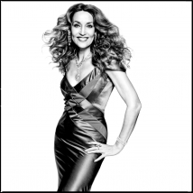 GH-Jerry-Hall.BW.standing-Clive.Arrowsmith