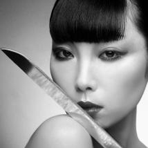 Samurai-Daughter Clive Arrowsmith