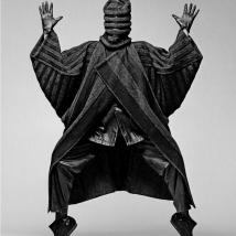Clive Arrowsmith -Mayaki-Mask.059